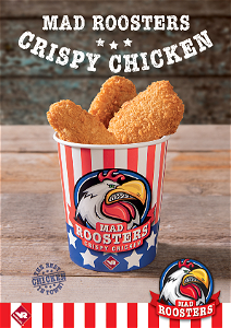 Foto Mad rooster crispy chicken